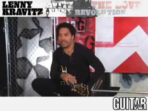 Lenny Kravitz - Guitar Lesson
