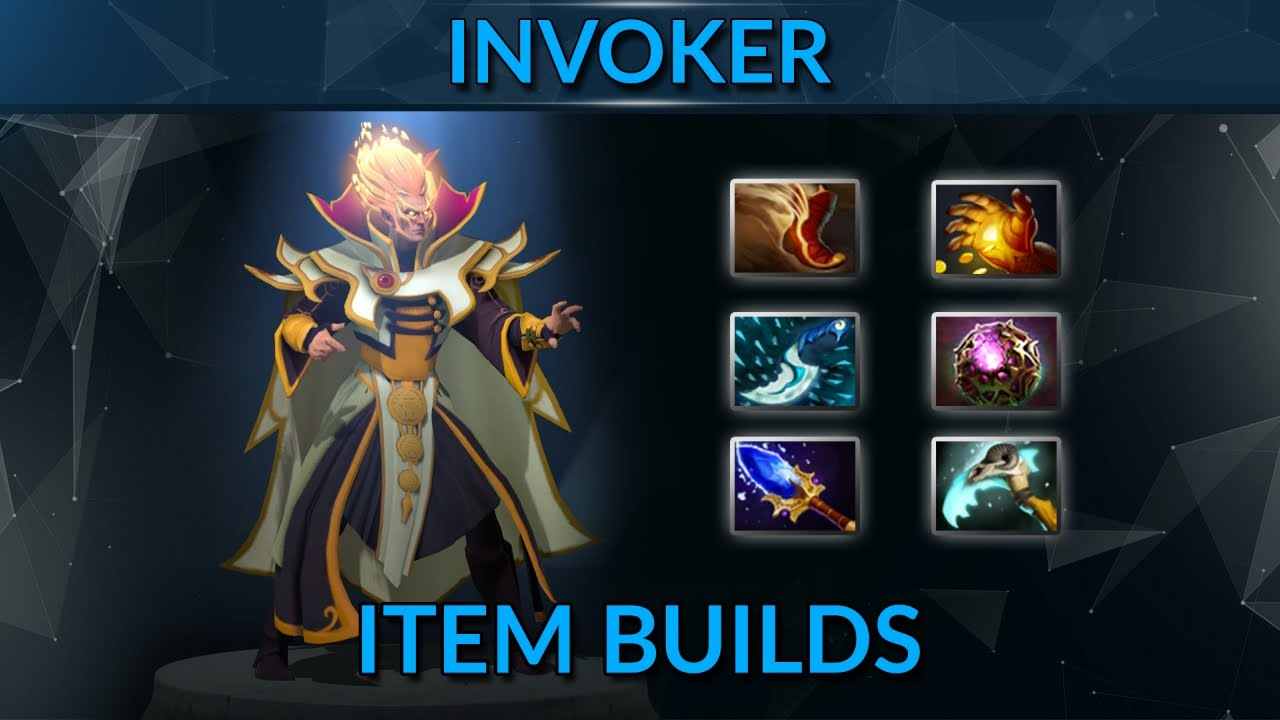 Item Builds Guide For Invoker Dota 2 Invoker Mid Guide YouTube