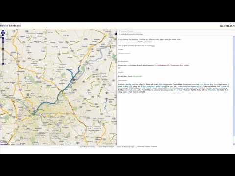 Routesketcher: Mapping Text Directions