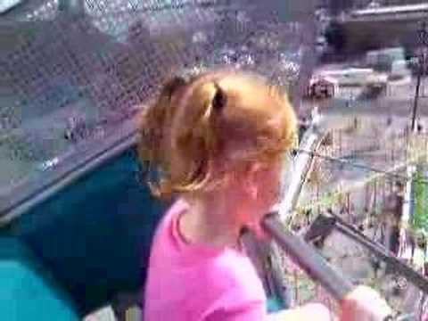 Taylor on the Ferris wheel