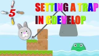 SETTING A TRAP IN GDEVELOP Rabbit vs Crocodile