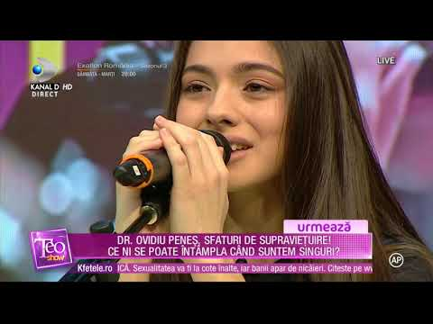 Laura Bretan - Dear Father (LIVE, Teo Show)