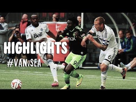 HIGHLIGHTS: Vancouver Whitecaps vs. Seattle Sounders | May 24, 2014