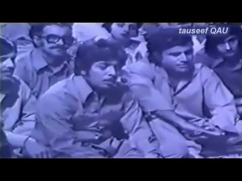 Asad Amanat Ali Khan live in Nikhar(PTV)-- insha ji utho ab kooch karo is shehar main