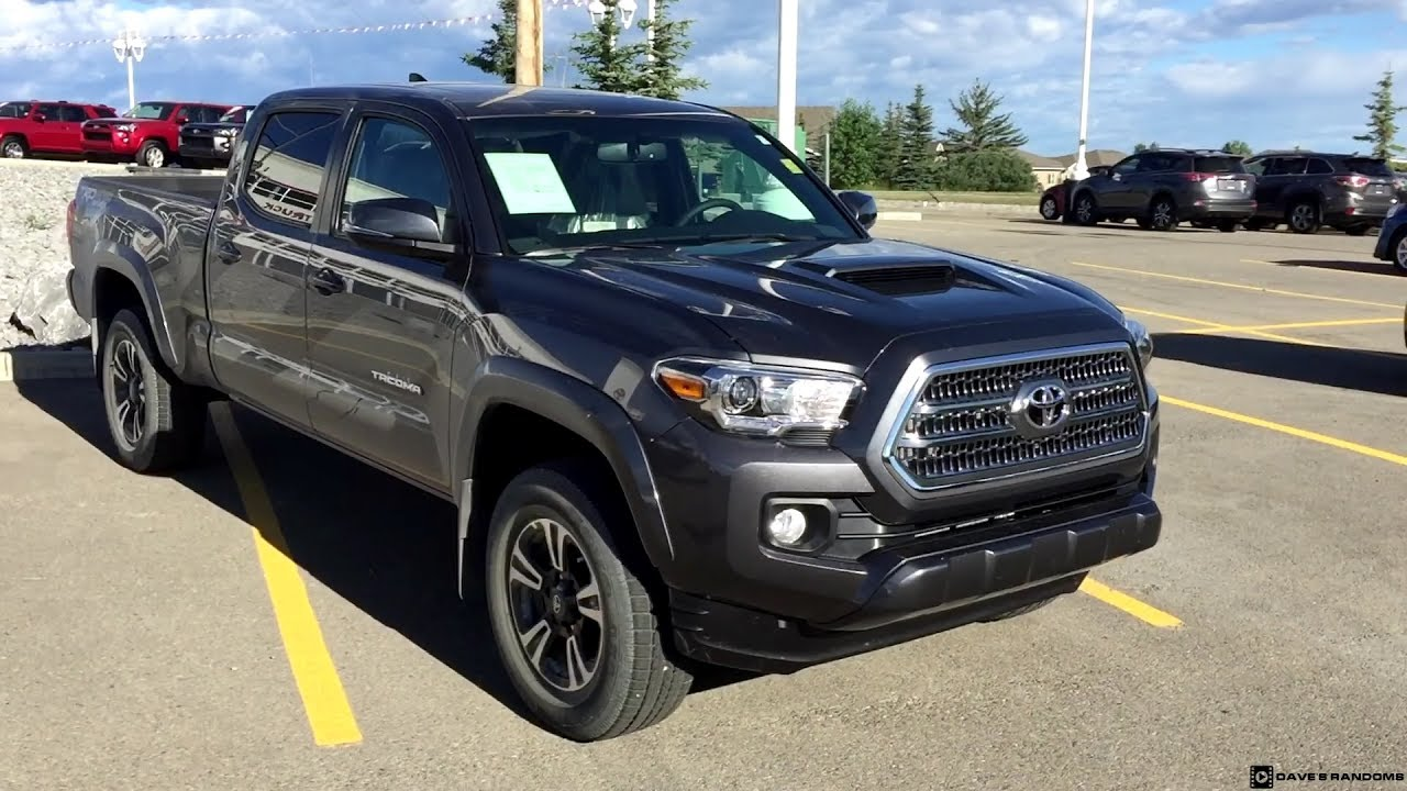 2017 Toyota Tacoma Double Cab Trd Sport In Magnetic Grey Metallic