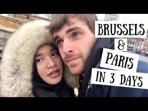 Brussels & Paris in 3 Days