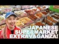 Japanese Supermarket Mokbang!