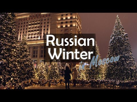 Moscow Weather. Winter | RUSSIA