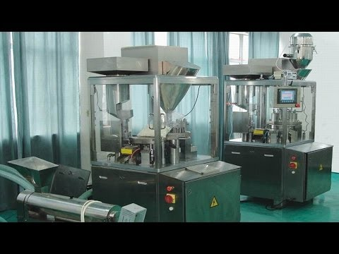 capsule pharmaceutical pills filling machine encapsulation equipment medical pharmaceutical field