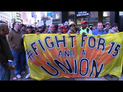 Fight for $15: Fast-Food Workers Stage Day of Action in Historic Mobilization of Low-Wage Labor