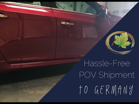 HOW TO SHIP YOUR CAR OVERSEAS // PCS To Germany