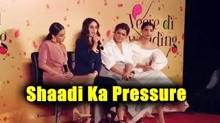 Kareena Kapoor On Sharing The Marriage Pressure With Her Partner | Veere Di Wedding Trailer launch