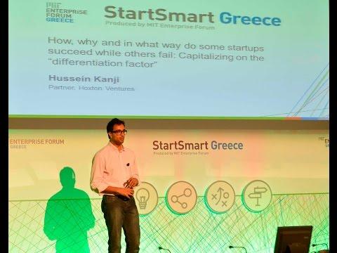 StartSmart Greece: Case Study Presentation by Hussein Kanji