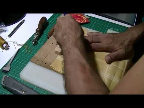 How To Make A Leather Multi-slot Card Holder (12 Slots)