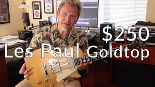 $250 LES PAUL GOLDTOP?! - Jay Turser JT-220 Demo / Review - Guitar Discoveries #24