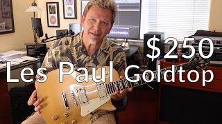 $250 LES PAUL GOLDTOP?! - Jay Turser JT-220 Demo / Review - Guitar Discoveries #24