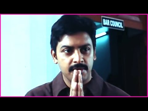 Indira Vizha Tamil Movie - Srikanth gets acquitted from the case   Climax Scene