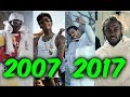 Most Popular Rap Songs of The Last 10 Years (2007-2017)