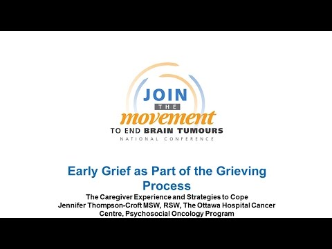"""Early Grief as Part of the Grieving Process"" - Jennifer Thompson-Croft"