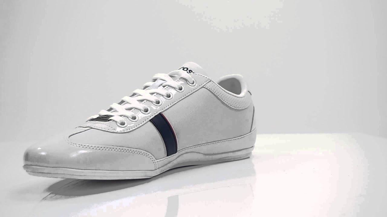 lacoste misano sport white men shoes sneakers schuhe
