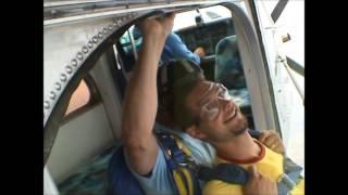 Baptême de chute libre / saut en parachute biplace / pilatus
