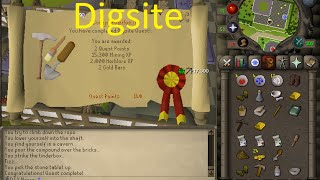 OSRS Quests - The Digsite