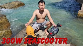 300w Sea Scooter Review 4K