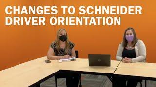 Truck driver Q&A with Schneider recruiters [Ep. 8] Changes to Schneider driver orientation