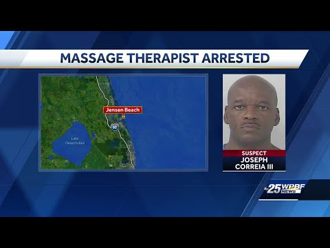 Massage therapist charged with sexual battery