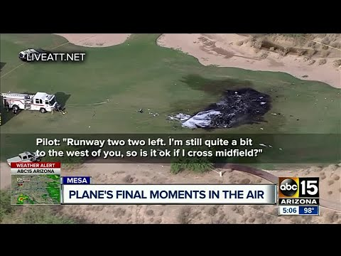 Mesa plane crash claims the life of 2 people