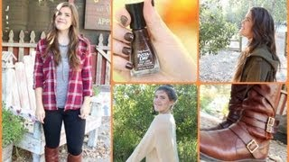 Fall Favorites: Outfits, Beauty, & Activities!