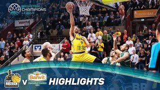 MHP RIESEN Ludwigsburg v Banvit - Highlights - Quarter-Finals - Basketball Champions League