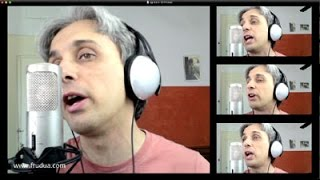 How to Sing a cover of Another Girl Beatles Vocal Harmony