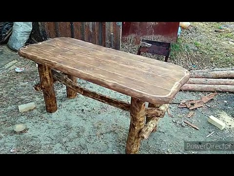 Как сделать стол под старину своими руками