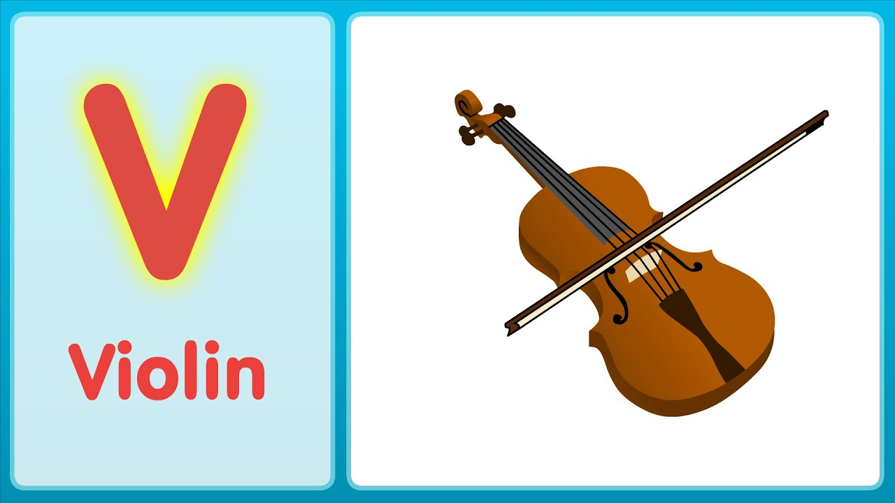 V Is For Violin The V Song (Upp...