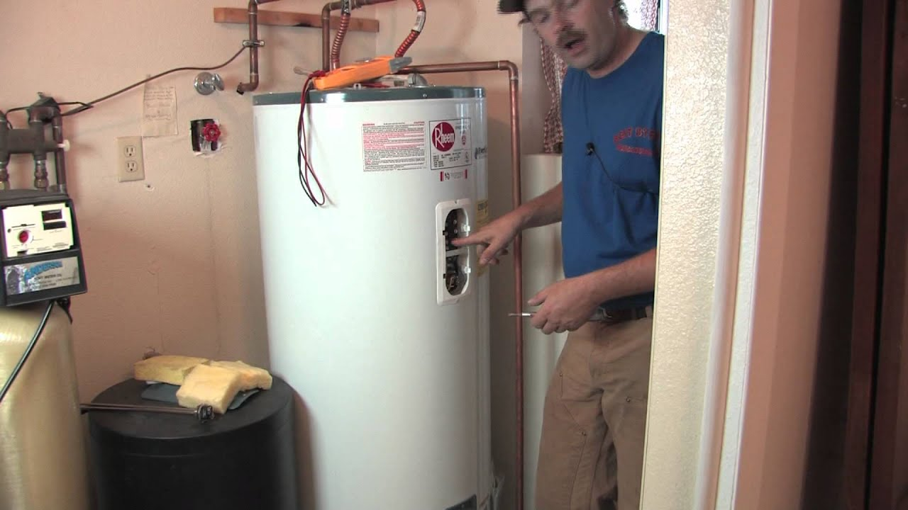 Hot Water Heaters How To Change The Temperature On An