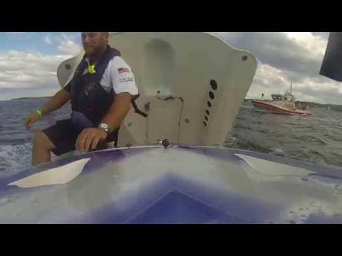 Miss PTM Offshore Racing- Solomons Island, Maryland 2014- Rear View Spin out