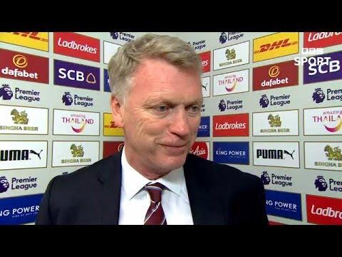David Moyes Post Match Reaction Interview | Leicester 0-2 West Ham United | Premier League Review