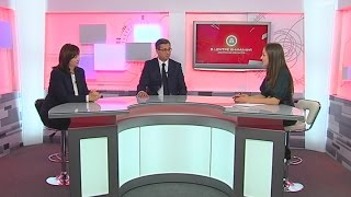 Интервью С.А. Антоновой и О.Д. Васильева «Первому областному каналу»