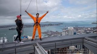 Sidharth Malhotra goes sky walking