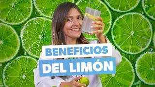 Beneficios del limón: cómo tomar agua con limón para bajar de peso