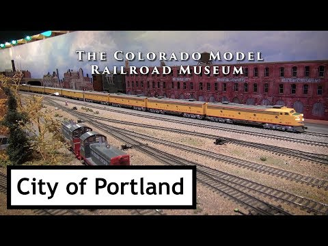 City of Portland at the Colorado Model Railroad Museum