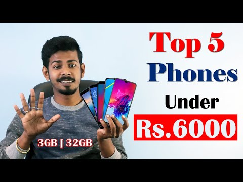 Top 5 Phones Under 6000 In January 2020 [The 117]
