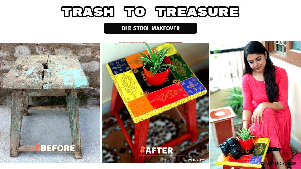 DIY Old Wooden Furniture Makeover || Trash To Treasure - 4 || Best Reuse Idea ||