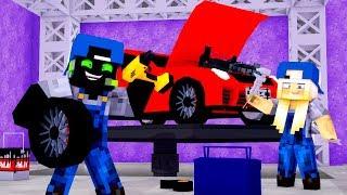 WIR ARBEITEN in EINER TUNING WERKSTATT!? - Minecraft [Deutsch/HD]
