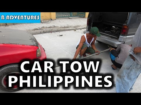 Angeles City: Filipino Car Towing, Philippines S3, Vlog #15