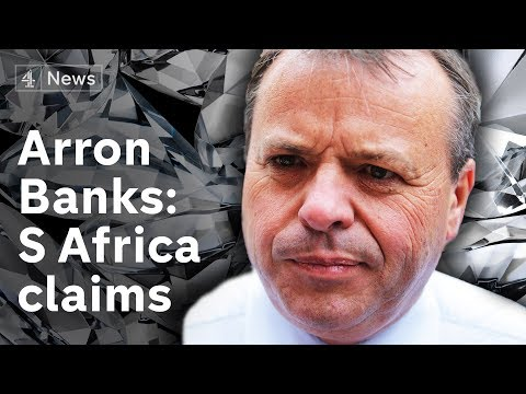Did Arron Banks bribe a South African police chief to have a business rival investigated?