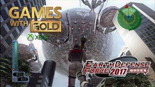 Earth Defense Force 2017 — Games With Gold 'tÁ De ParabÉns' Por Esse Jogo! Gameplay No Xbox One 🎮