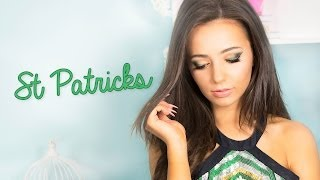 St Patrick's Day Wearable Green Makeup tutorial