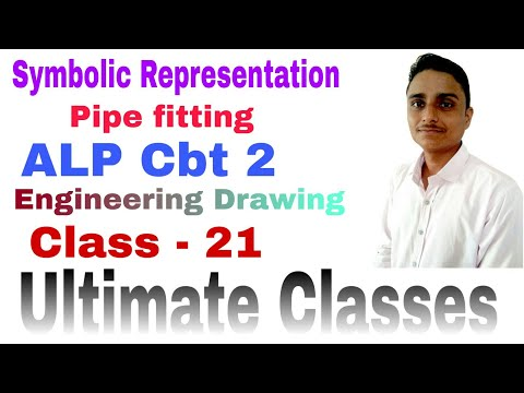 Basic science and engineering, Engineering drawing ALP Cbt 2, symbols representation ultimate Classe